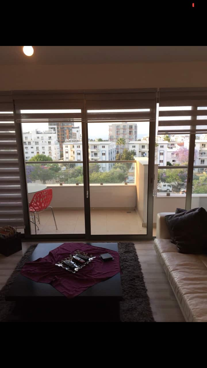 3 Bedroom Flat with a large balcony in central.