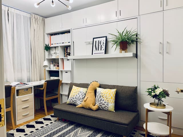 Cozy room/Changi rise condo /Changi airport