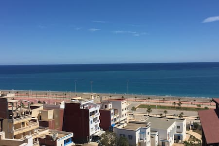 Complexe luxury vue sur mer direct - Oued Laou - Apartment