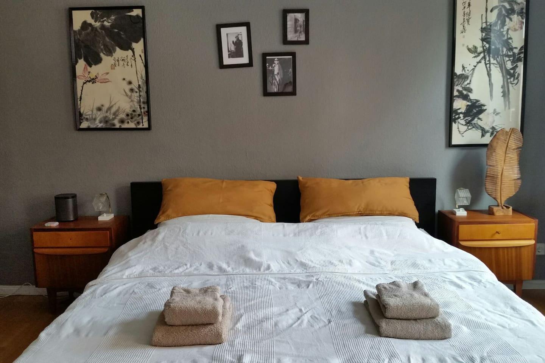 Dein Gästezimmer mit Kingsize Bett