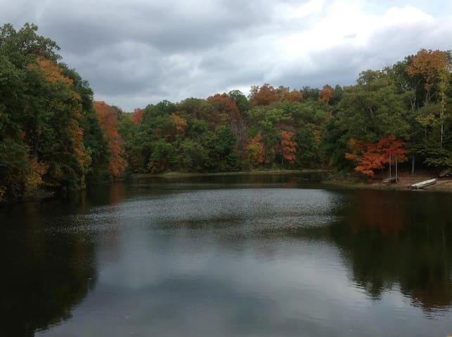 Private 5 acre lake