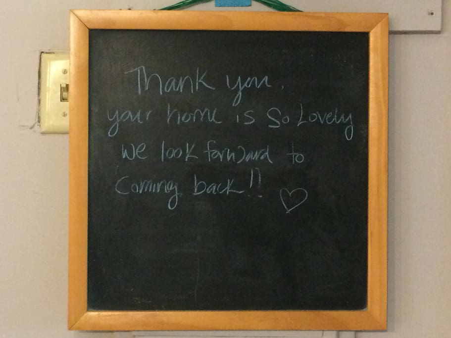 Guest Message- Thank You...