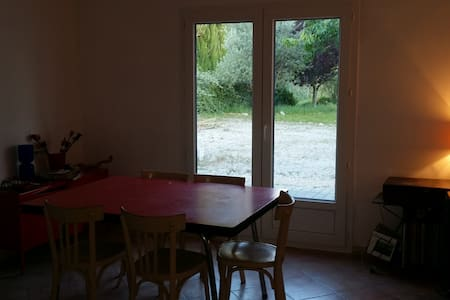 Maison de vacances dans les champs de lavande - Taulignan - Haus