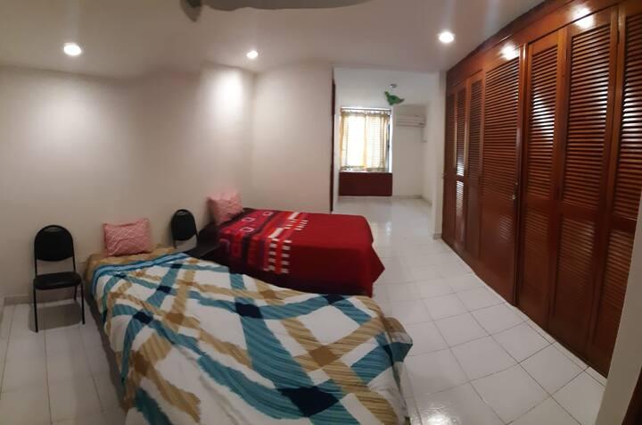 Habitaciones cómodas, Tabasco 2000 (3) Facturamos