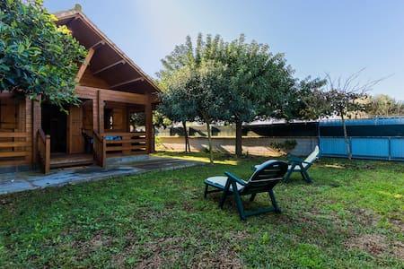 Miramar El Palmar, Casa 2 a solo 150mt de la playa - Vejer de la Frontera - Blockhütte