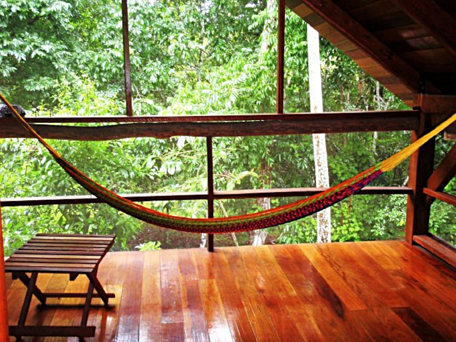 Loft with hammock