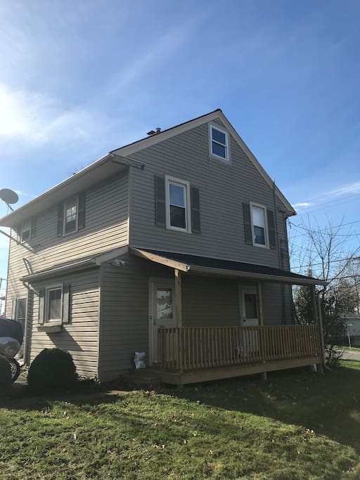 Upstairs unit