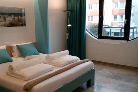 Kabine 7 Kamer 2 - Koksijde - Bed & Breakfast