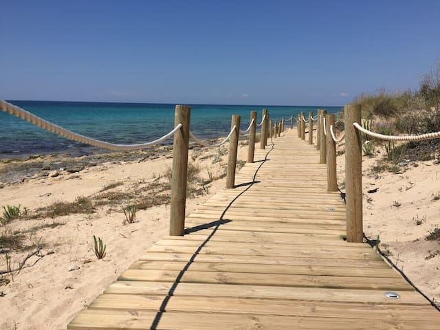 Beautiful beach-app. in Puglia - Torre Ovo - Apartamento