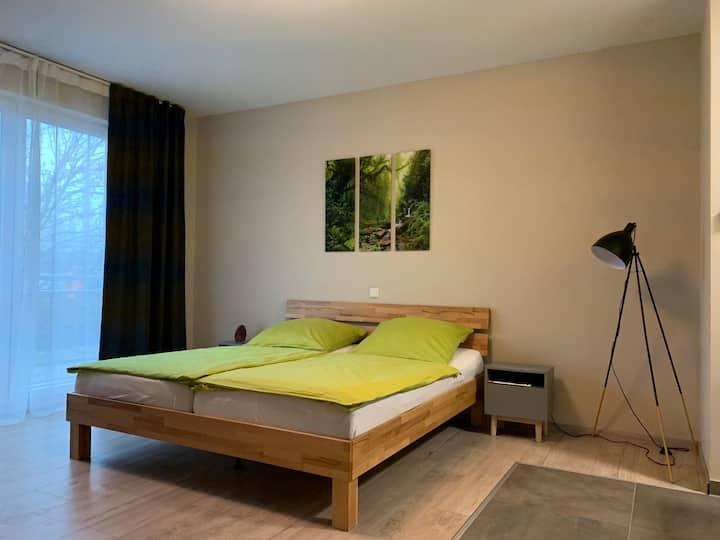 Nagelneues Appartement² in Nieder-Olm, 1-2 Leute