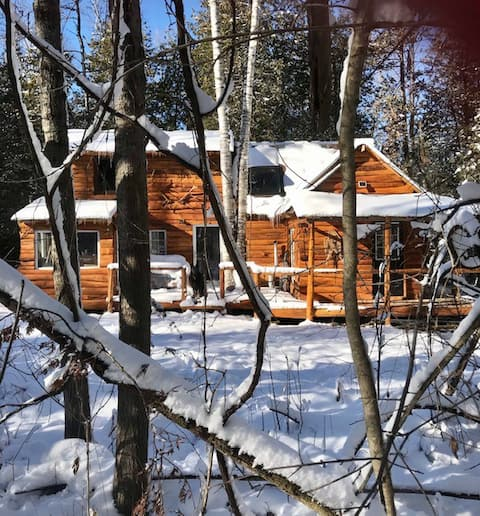 Romantic Cabin in the Woods -80 km's from CN Tower