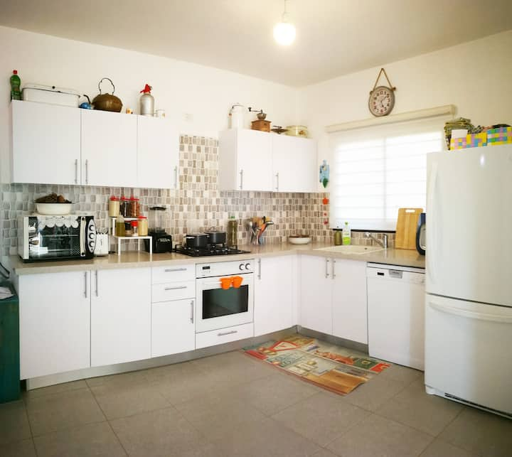 Family friendly home In the heart of the Galilee
