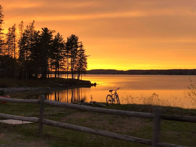 Acadia Sunrise at Bay Meadow Cottages