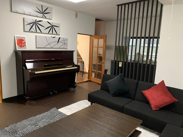 "1min from Gora Park! 4 bed rooms with ""Tatami""!"