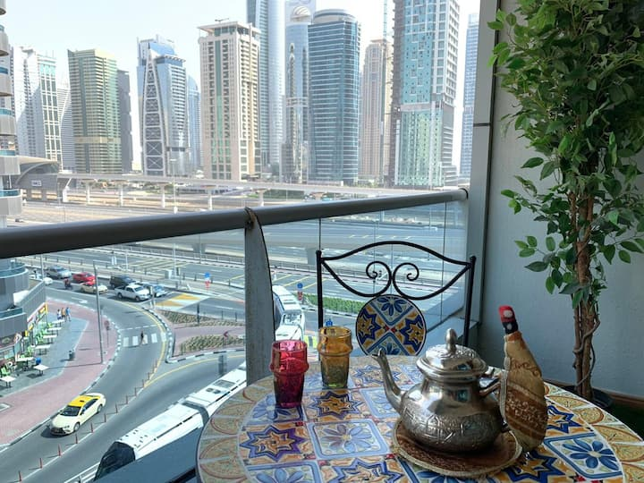 Cozy apartment in Marina -near JBR & Metro station
