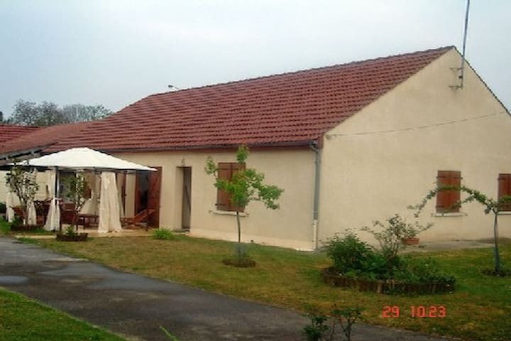 Grand Pavillon spacieux de 100m2 - Guiscard - House