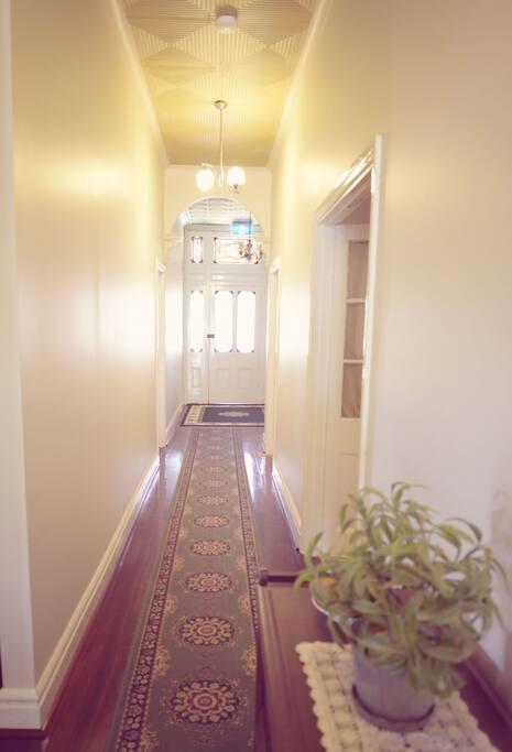 Long hall way