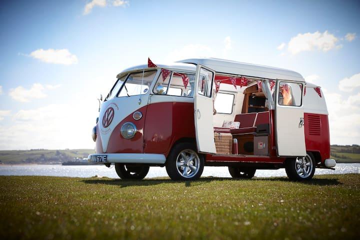 VW Camper Hire: Splittys, Bays & Californias