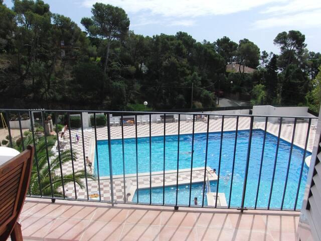 appartement de charme face a la mer, paradisiaque - Palafrugell - Ortak mülk