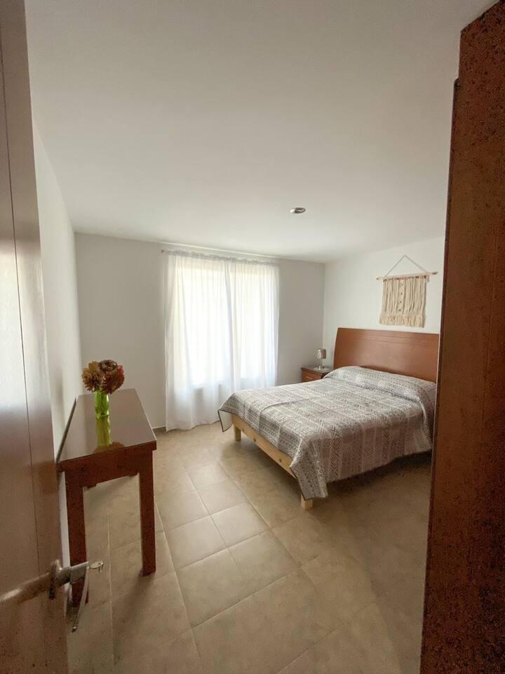 Cozy apartment in San Andrés Cholula, El Barreal