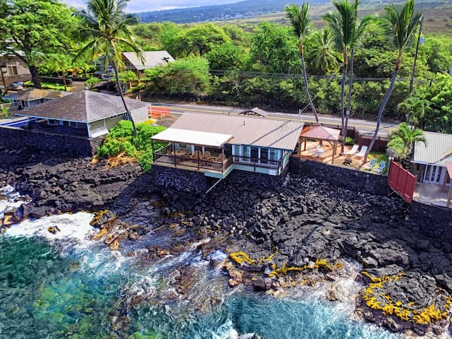 Oceanfront Honeymoon Cottage, Breathtaking Ocean views, The Cottage