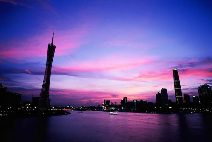 GZ 180°Riverview. Near Sun Yat-sen University.--2 - Guangzhou - Townhouse