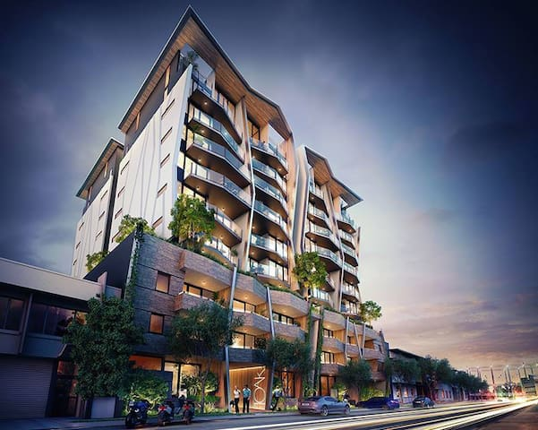 Executive Modern Unit in the heart of Newstead - Newstead - Apartmen