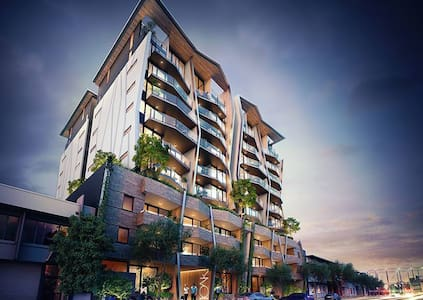 Executive Modern Unit in the heart of Newstead - Newstead - Appartement