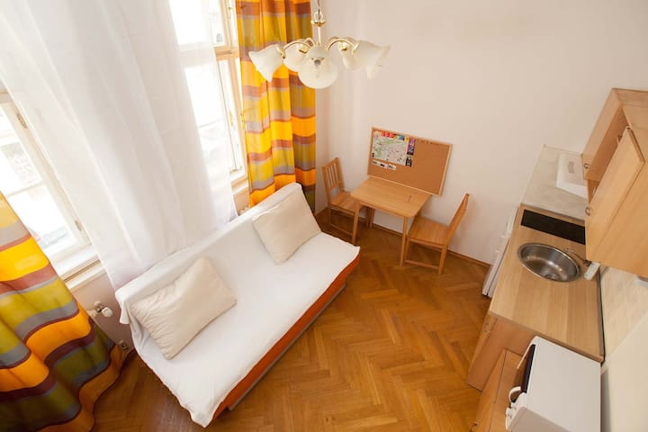 Centrally cosy and quiet apartment