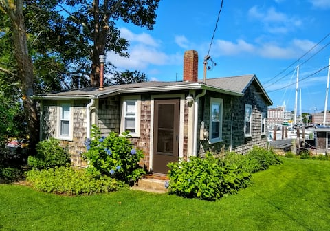 Woods Hole Cottage on Eel Pond in Woods Hole, MA