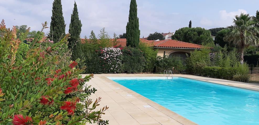 T2 tt confort, au calme avec jardin et terrasse