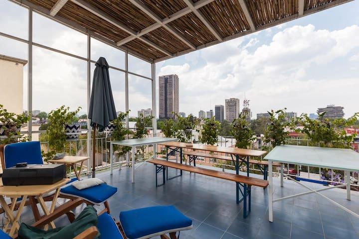 Suite con Roof garden