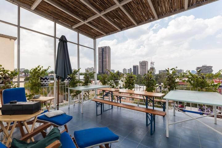 Suite with Roof Garden