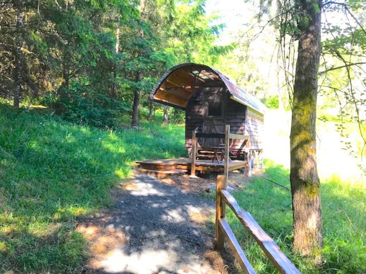 Sheepherder's Wagon 1