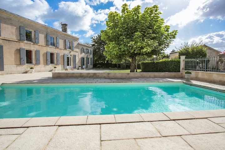 Villa with 4 bedrooms in Saint-Georges-du-Bois, with private pool, enclosed garden and WiFi - 30 km from the beach