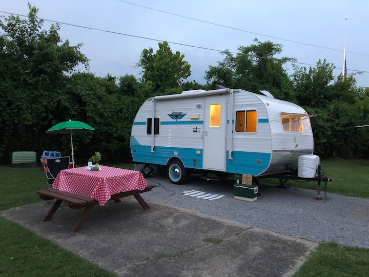 Dorothy the travel trailer-RV There Yet! Delivered