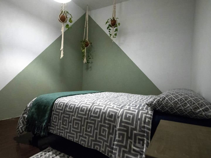 Room with roofgarden and breakfast Roma, Juarez