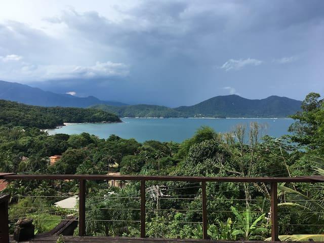 Casa com vista espetacular! Praia da Fortaleza