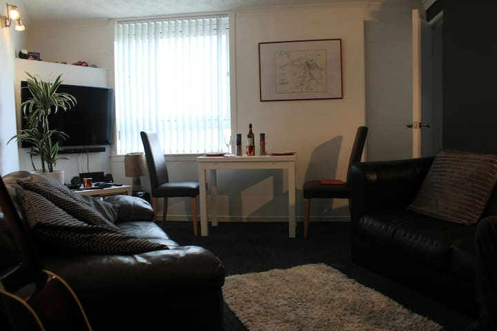 Kinneil House.2 bed flat near UWS. - Furlongs,Hamilton  - Appartement