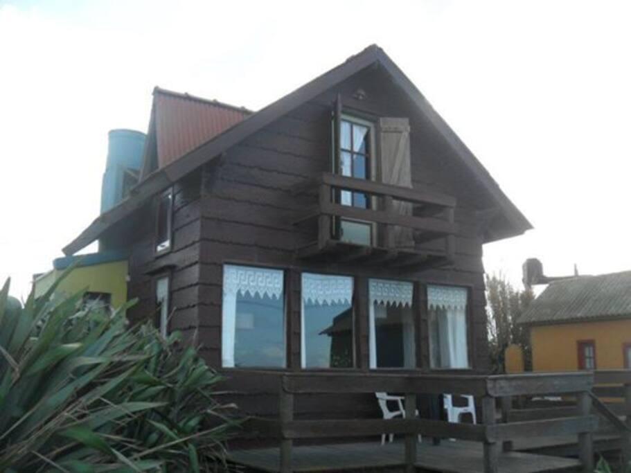 Cabaña La Caracola para 4 personas