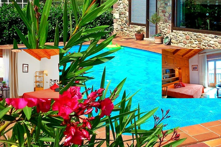 "Chalet ""Rec dels Noguers"" - 2 rooms with breakfast"