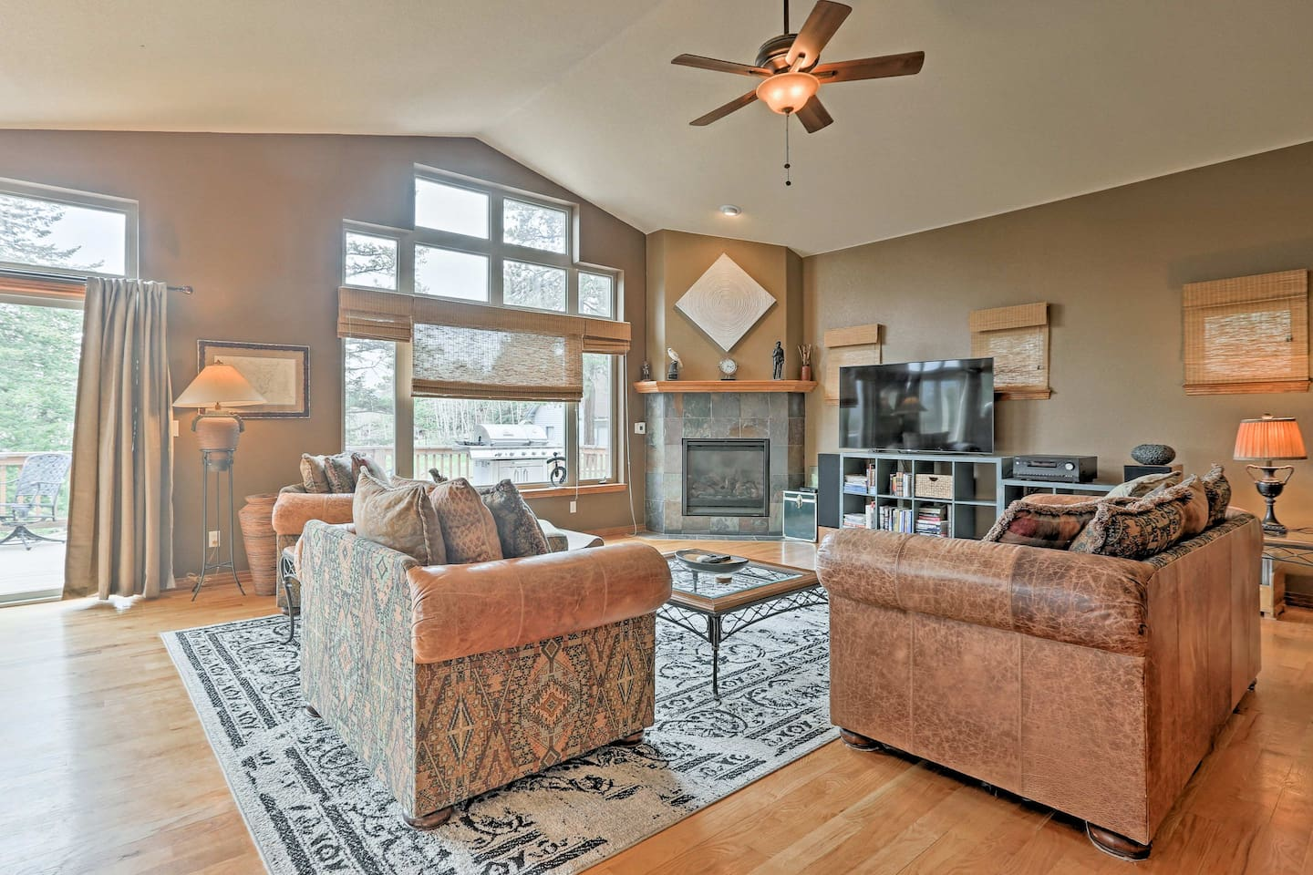 Experience Denver's best and beyond from this Evergreen vacation rental house.