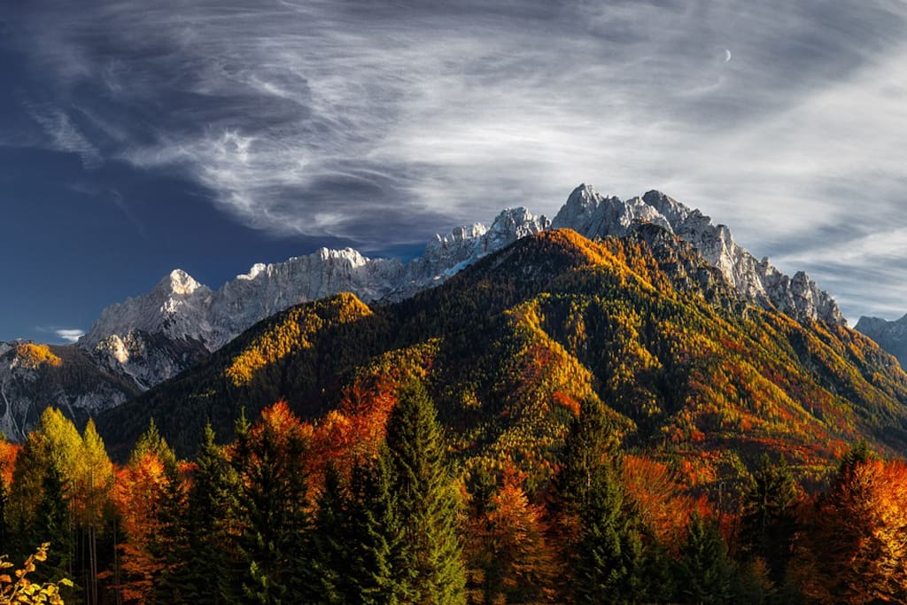 Every season is beautiful for visit Slovenia