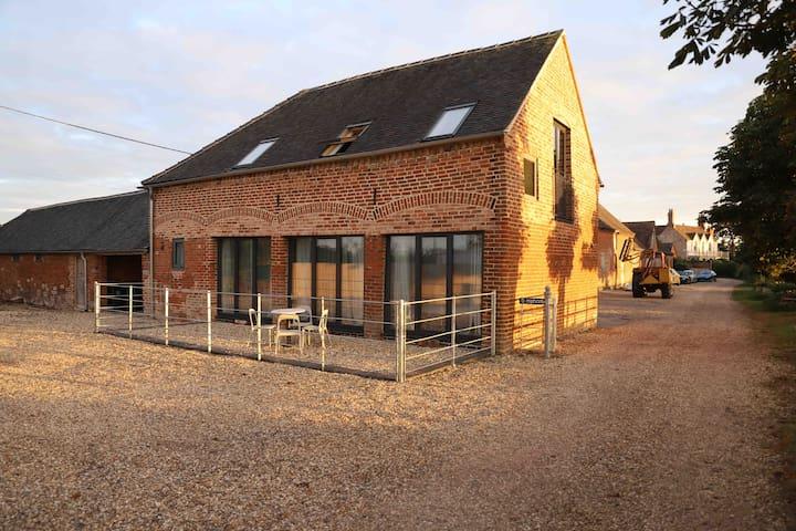 Amazing view modern barn perfect location.
