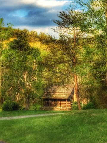 Kings Cabin on Lake Lure Ranch, NC - Lake Lure - Houten huisje
