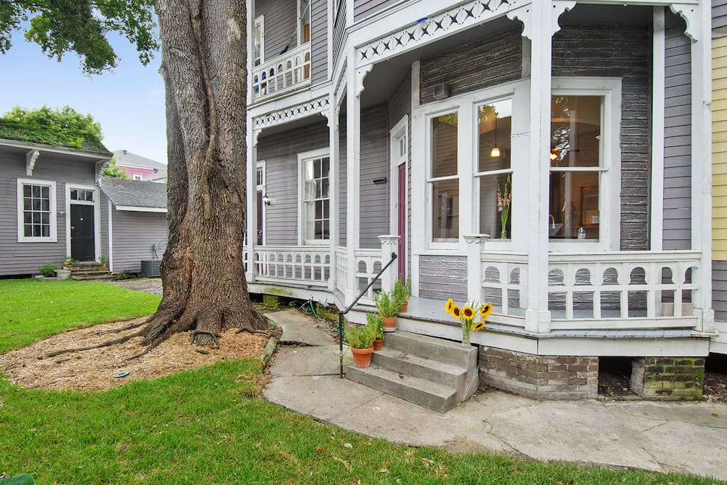 Historic Garden District Victorian Mansion Apartments For Rent In New Orleans Louisiana