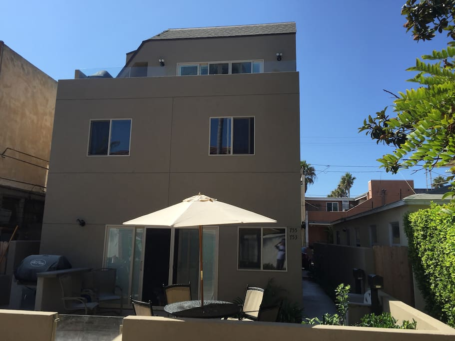 4 bedroom 4 bath mission beach get away houses for rent in san diego california united states for 2 bedroom homes for rent san diego