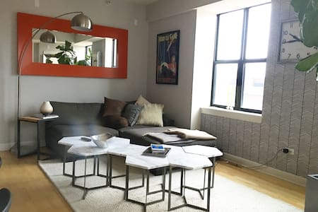 Downtown 2bd/2bth - FREE Parking - Chicago