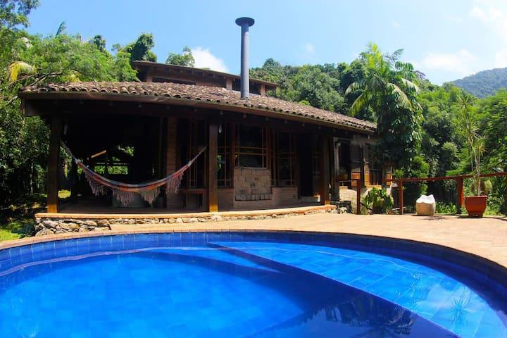 Casa Maresias com piscina privada Canto do Moreira
