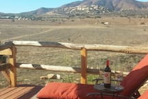 Wine, comfy lounge chairs and beautiful views - what more is there to say?